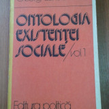 13784 GEORG LUKACS - ONTOLOGIA EXISTENTEI SOCIALE VOL. 1
