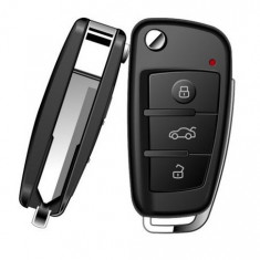 Cheie Auto Spion cu Camera HD iUni SpyCam RMS23, Night Vision, senzor de miscare, Foto, Video - Camera spion