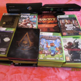 Xbox 360 Microsoft slim + 48 jocuri+kinect + 2 controllere wirelles
