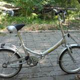 Bicicleta Metropolis pliabila - Bicicleta pliabile, 20 inch, Numar viteze: 1