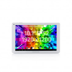 Tableta Modecom FreeTAB 1017 10.1 inch RockChip 3188 1.6 GHz Quad Core 2GB RAM 16GB flash Android 4.2 Silver