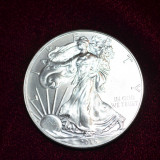 MONEDA - ONE DOLLAR - ARGINT 999 - Liberty - 1oz Fine Silver -31.1gr. -Am 119buc, Monede
