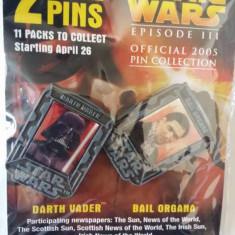 Colecție insigne Star Wars - Insigna Barbati