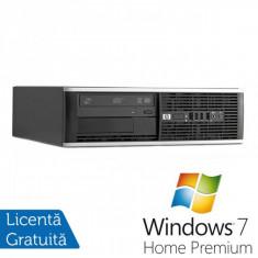 HP 8300 SFF, Intel Core i5-3470 Gen 3, 3.2 Ghz, 4GB DDR3, 250GB, DVD-RW + Windows 7 Home Premium - Sisteme desktop fara monitor