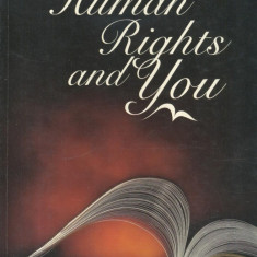 Frederick Quinn - Human Rights and You - 648515 - Carte Drept administrativ