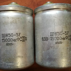 Condensator 63V 15000uF fabricatie URSS