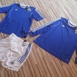 Costum Adidas- Four Seasons - 3 piese - Trening barbati Adidas, Marime: L, Culoare: Albastru