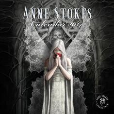 Calendar 2017 de perete Anne Stokes