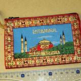 Portofel de monede textil - interior simplu - Turcia - 2+1 gratis - RBK18068 - Portofel Dama, Culoare: Maro