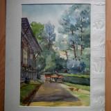 S.COTIFIDE- DRAGANESTI, 1938 - Pictor roman, Peisaje, Guasa, Abstract