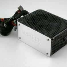Sursa MS-Tech GREEN DIAMOND MS-N600-GD 600W, 2 x PCIe(6+8), 6xSATA, garantie! - Sursa PC MS Tech, 600 Watt