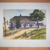 S.COTIFIDE- VATRA DORNEI, 1953 - Pictor roman, Peisaje, Guasa, Realism