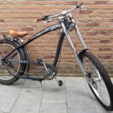 Bicicleta chopper Nirve Cannibal by Corey Miller - 3 viteze Shimano Nexus