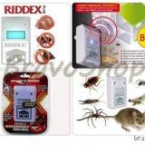 Oferta! Dispozitiv contra soareci, gandaci, furnici, paianjeni - Pest reject RIDDEX Plus