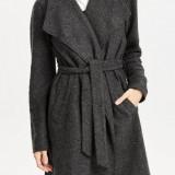 Jacheta usoara din lana si acryl - Only - art. 15119587 gri inchis - Geaca dama Only, Marime: 36, 38, 40, 42