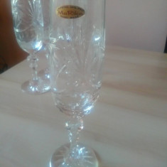 Pahare sampanie Cristal 24%