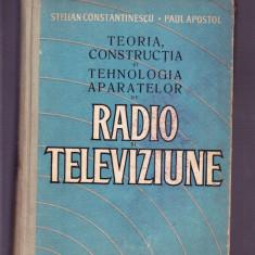 STELIAN CONSTANTINESCU -TEORIA CONSTRUCTIA SI TEHNOLOGIA APARATELOR - Carte Cultura generala Altele
