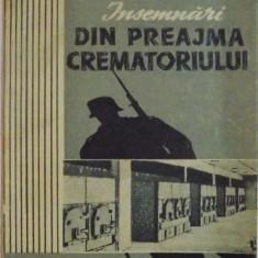 INSEMNARI DIN PREAJMA CREMATORIULUI de O. LUSTIG, 1957, DEDICATIE*