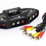 Cablu foto - Audio Video AV RCA Composite Switch Splitter AL553