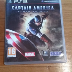 JOC PS3 CAPTAIN AMERICA SUPER SOLDIER ORIGINAL / 3D compatible / by WADDER - Jocuri PS3 Sega, Actiune, 16+, Single player