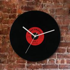 Ceasuri de perete - Ceas Perete Disc Vinil