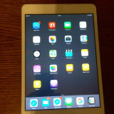 Ipad mini 16 Gb, Wifi white + husa originala Apple - Husa Tableta
