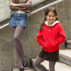 Ciorapi fete - She and She, 200 DEN, cappucino - Ciorapi Copii