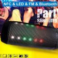Boxa Bluetooth Portabila Q6 Magic Light Beats AUX, USB, Card, Garantie, Factura