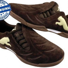 Adidasi copii Puma Powercat 3.10 - adidasi originali - adidasi piele, Baieti, Piele intoarsa