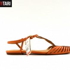 Sandale dama - Zara BrownishSandals (Marime: 37)