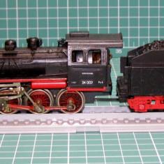 Macheta Feroviara, 1:87, HO, Locomotive - Locomotiva abur BR24002 marca Piko scara HO (4499)