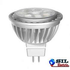 Bec/neon - Spot cu led MR16 GU5.3 7W 12V lumina soft 84633 GE