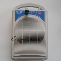 Microfon - Boxa portabila cu intrare de stick si microfoane wireless