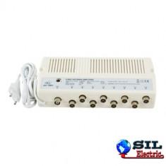 Amplificator de semnal 8 iesiri, cu GA, HQ