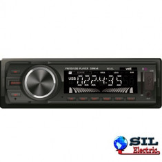 CD Player MP3 auto - Radio auto cu slot USB si SD 4x50W Well