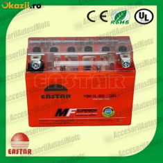Acumulatori Moto - BATERIE Scuter 6.5AH 12V 6.5 Amperi Acumulator 6.5 Ah cu GEL fara intretinere