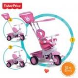 Tricicleta copii - Tricicleta 3 in 1 Elite Roz