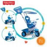Tricicleta copii - Tricicleta 3 in 1 Elite Albastra