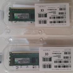 Kit 8GB HP (4 Module x 2GB) DDR3 1600MHz pt Server HP Gen 8 PN 669320-B21 - NOU - Memorie RAM HP, Quad channel