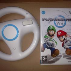 Jocuri WII - Nintendo Wii - Mario Kart Wii + Wheel