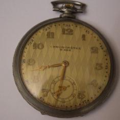 Ceas de buzunar - CEAS VECHI DE BUZUNAR -SWISS MADE-CHRONOMETRE ICARE-ANCRE-15 RUBIS