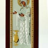 Icoana Sporul Casei, Foita Argint 925 si Aur, 5x9cm