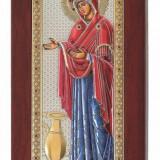 Icoana Sporul Casei, Foita Argint 925 si Aur, Color, 6x12cm