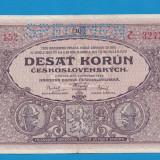 Cehoslovacia 10 korun 1927 aUNC SPECIMEN 1 - bancnota europa