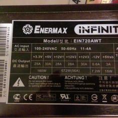 Sursa modulara Enermax Infinity EIN720AWT - Sursa PC Enermax, 700 Watt