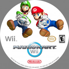 Jocuri WII Altele, Curse auto-moto, Toate varstele, Multiplayer - Wii joc MARIO KART ca nou Wii U, Wii Mini