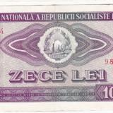 3) Bancnota 10 Lei 1966 VF