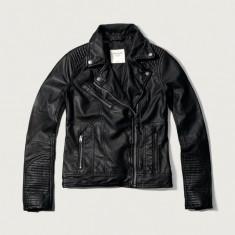 Abercrombie & Fitch Vegan Leather Geaca - Geaca dama