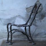 Metal/Fonta - Picioare vechi de fonta pentru banca de gradinasau terasa