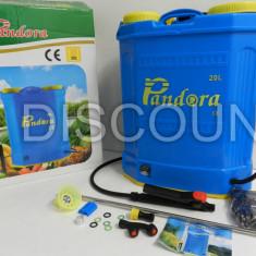 Pompa pentru stropit - Pompa de stropit electrica Pandora 20L tija alama vermorel pulverizator electric
